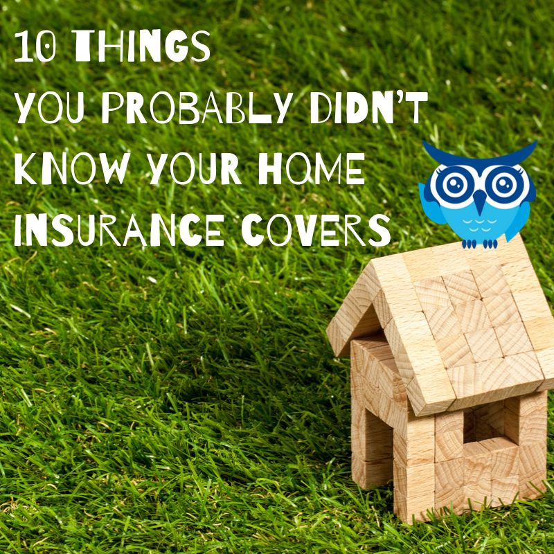 10 Things You Probably Didn't Know Your Home Insurance