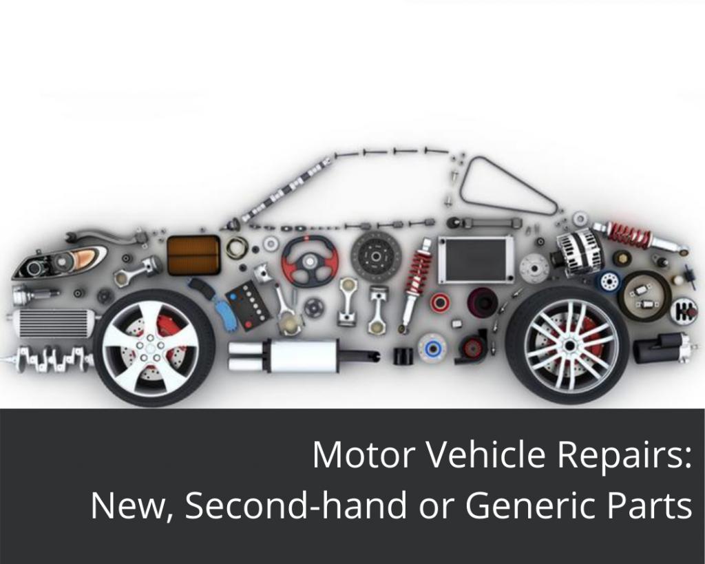 Motor vehicle parts